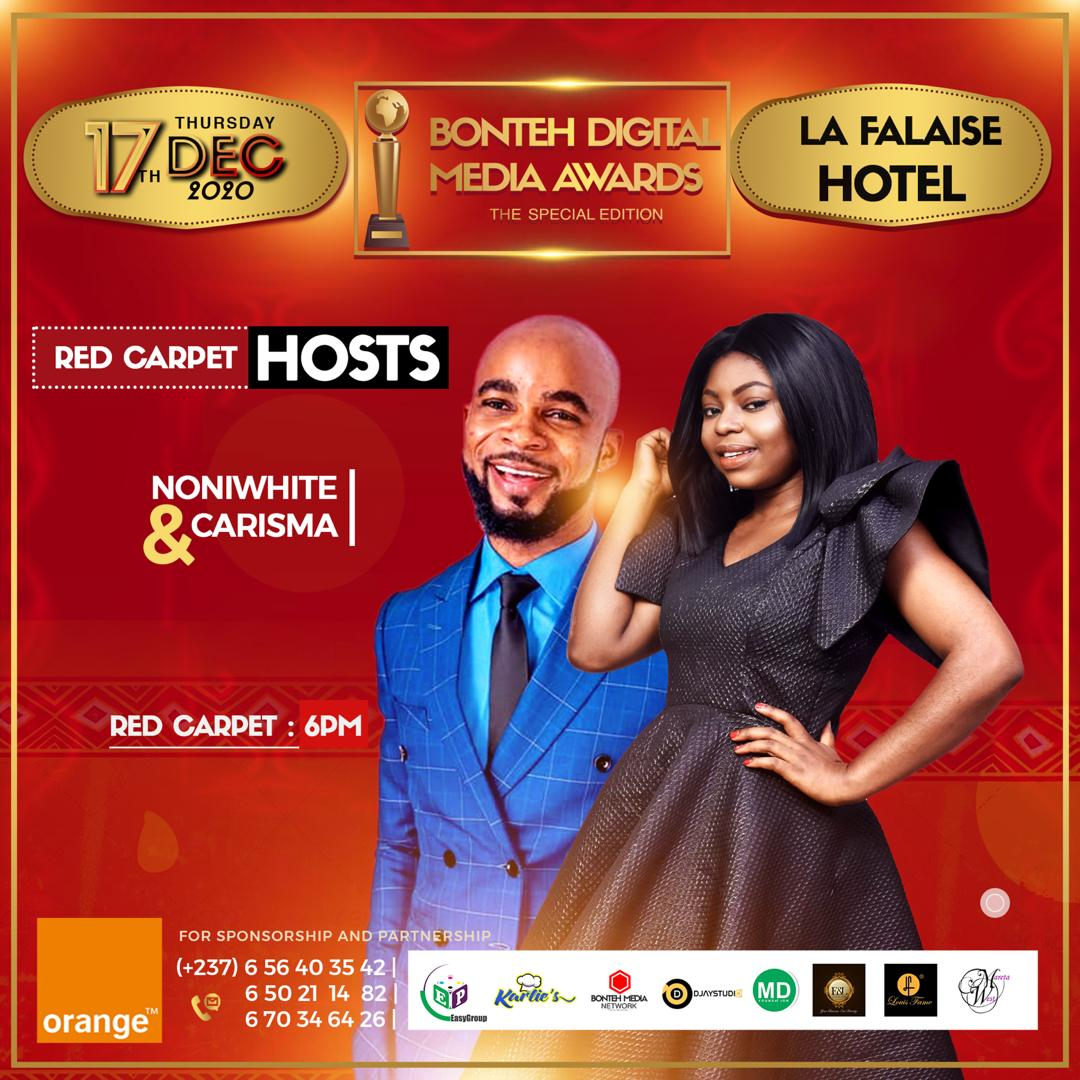 BDMA2020: Noniwhite & Carisma Esther announced as Red Carpet Hosts of the 2020 BDMA.